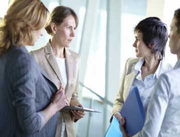 Networking is an important step you can take to move forward in the supply chain. ©iStockphoto.com/shironosov