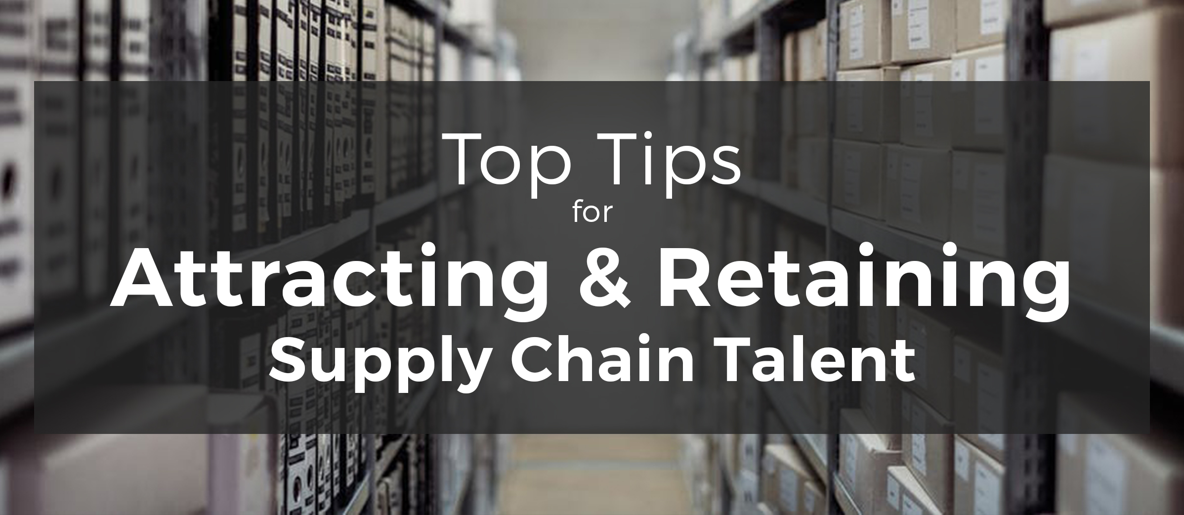 finding supply chain executives